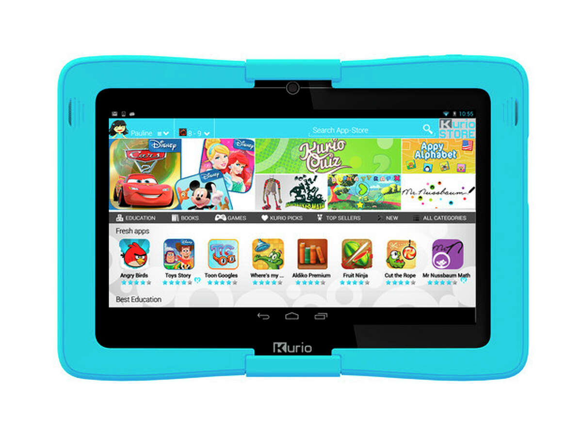 This undated image provided by Toys R Us shows a Kurio tablet. The Kurio tablet made the Toys R Us?' list of the best holiday toys for 2013. (AP Photo/Toys R Us)