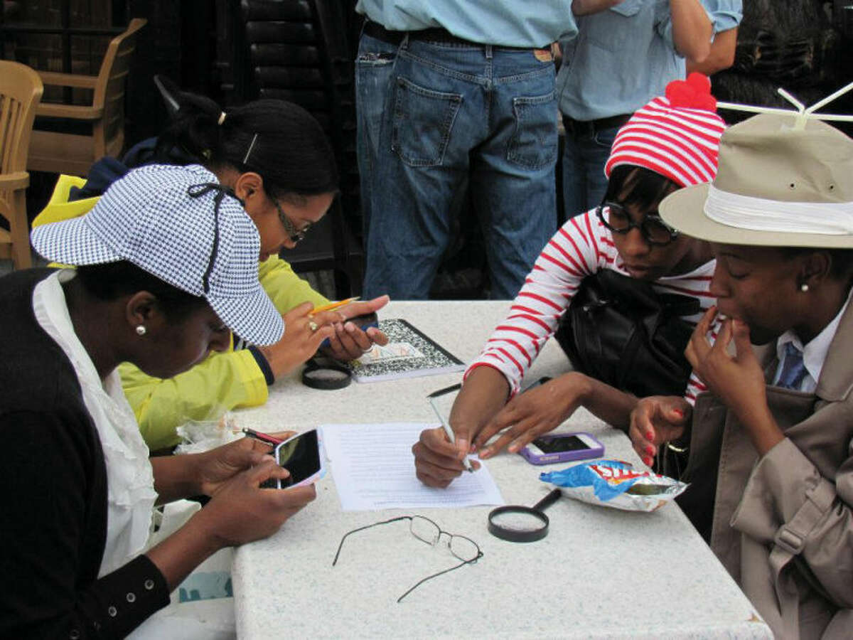 The 2nd Annual Urban Scavenger Race returns to downtown Stamford on Saturday, Oct. 5.