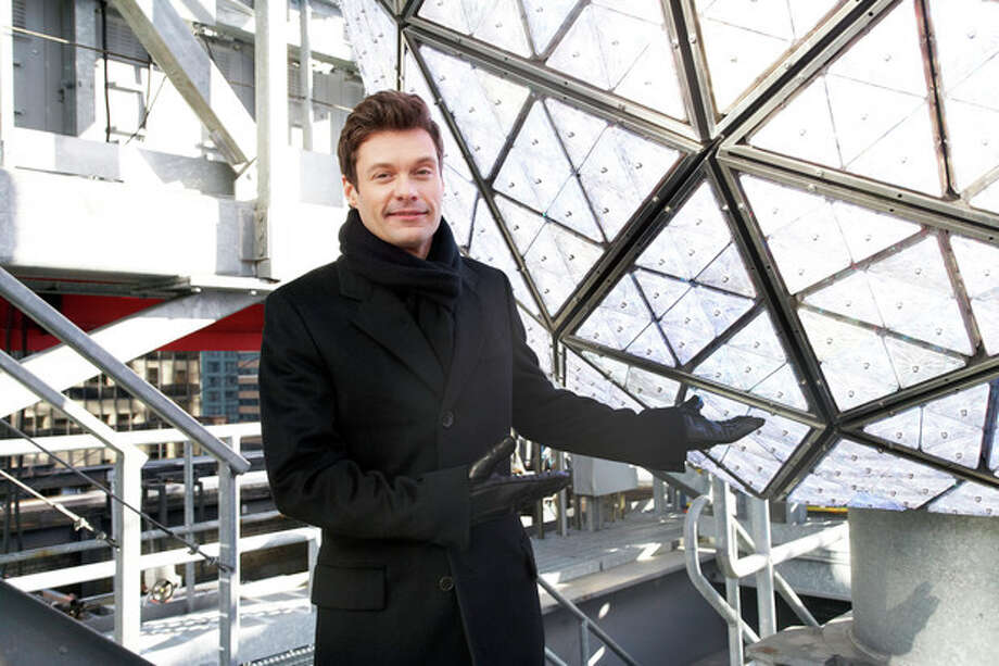 Ryan Seacrest, producer and host of Dick Clark's New Year's Rockin' Eve on ABC, poses for a portrait Friday, Dec. 28, 2012 in New York. (Photo by Dan Hallman/Invision/AP Images) / Invision