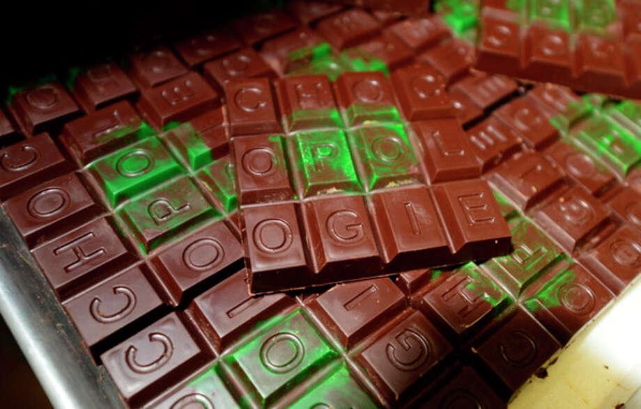 Fritz Knipschildt and his employees at Knipschildt Chocolatier / Chocopologie restaurant produce high quality chocolates in South Norwalk.Hour photo / Erik Trautmann