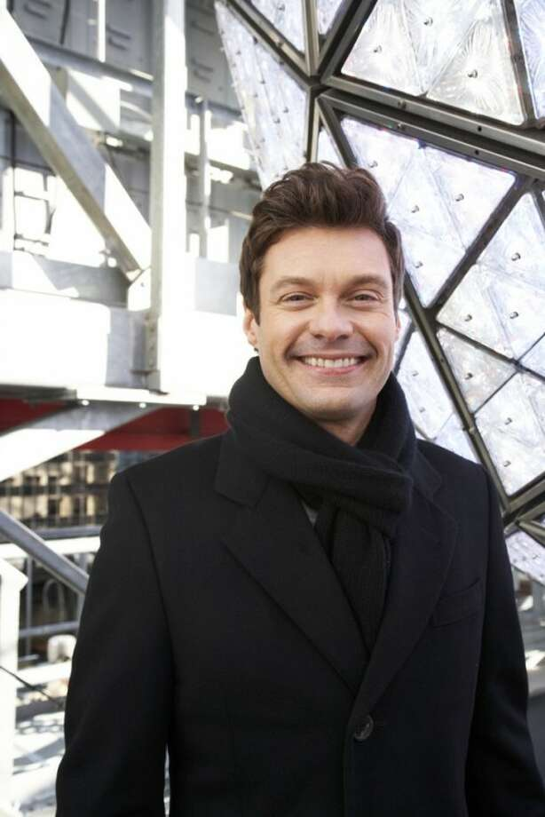 Ryan Seacrest, producer and host of Dick Clark's New Year's Rockin' Eve on ABC, poses for a portrait Friday, Dec. 28, 2012 in New York. (Photo by Dan Hallman/Invision/AP Images)