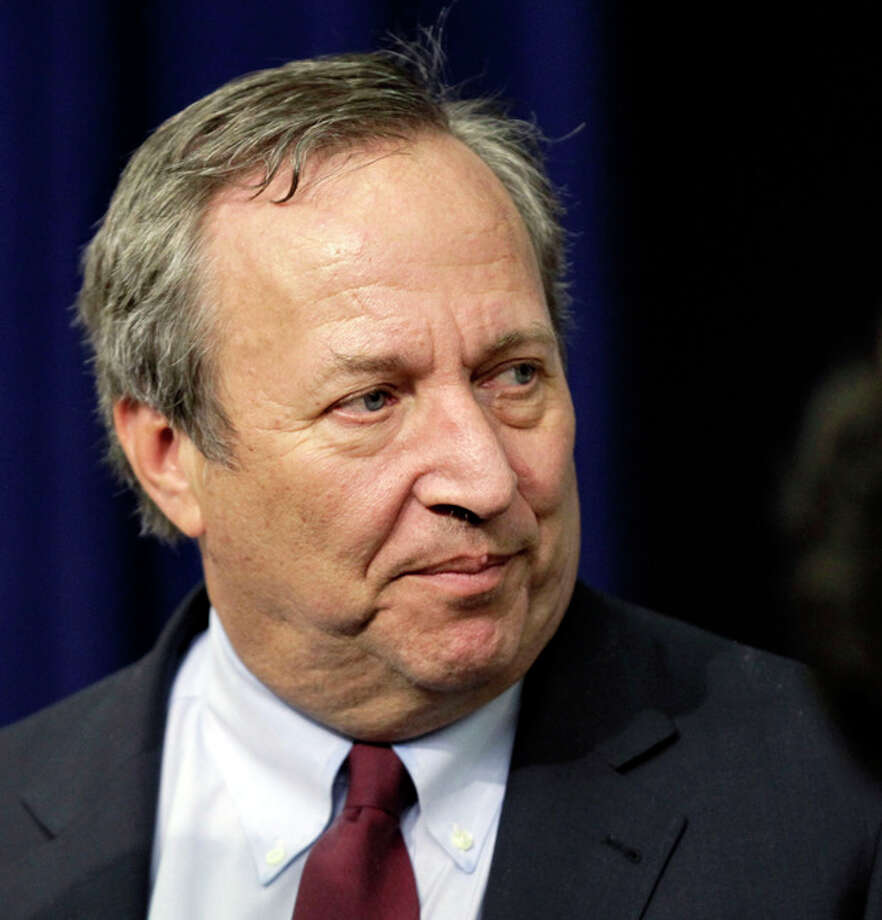 File- This Dec. 17, 2010 file photo shows Director of the National Economic Council Lawrence Summers arriving for the tax cut extension bill during a ceremony at the Eisenhower Executive Office Building in the White House complex in Washington. The staunch resistance that pushed Lawrence Summers to withdraw from consideration for Federal Reserve chairman came from Obama's own Democratic base, not the conservatives who kept him from nominating Susan Rice as secretary of state. (AP Photo/J. Scott Applewhite, File) / AP