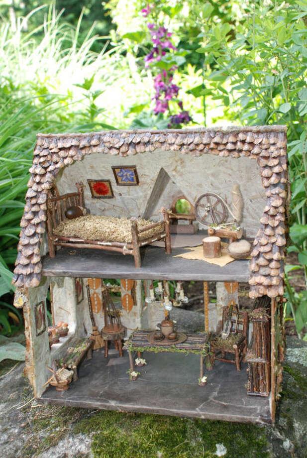 A whimsical Fairy House