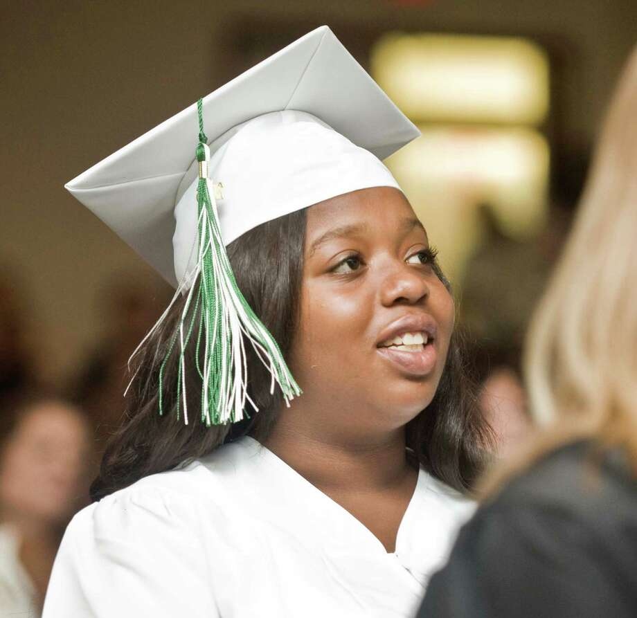 Stamford Academy graduation ceremony held at Trailblazers Academy in Stamford. Wednesday, June 15, 2016 Photo: Scott Mullin / For The / The News-Times Freelance