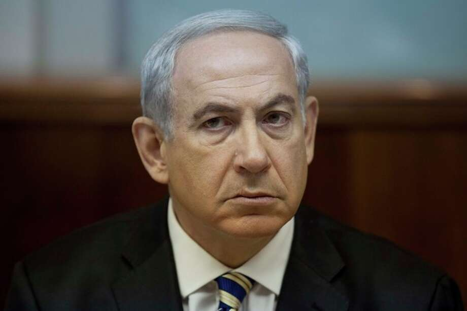 FILE -This Sept. 1, 2013 file photo shows Israeli Prime Minister Benjamin Netanyahu during the weekly cabinet meeting in Jerusalem, Israel. Mortified that the world may be warming up to Iran, Netanyahu is taking an unpopular message to the White House and the United Nations this week: Don't be fooled by Tehran's new leadership. With the White House cautiously optimistic about its dialogue with Iran, the meeting on Monday, Sept 30, 2013 between Netanyahu and President Barack Obama could be tense. (AP Photo/Abir Sultan, Pool, file) / EPA- POOL