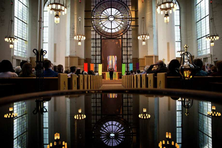 Seattle-area faith leaders gathered Monday morning at St. Mark's Cathedral to launch a new Sanctuary Movement. The church is pictured above in a file photo. Photo: GRANT HINDSLEY, SEATTLEPI.COM / SEATTLEPI.COM