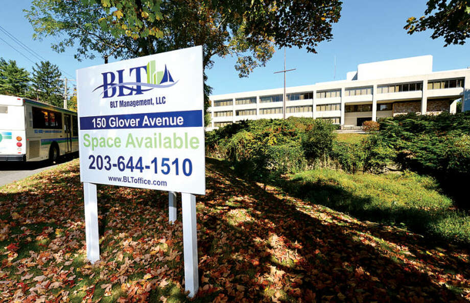 Hour photo / Erik Trautmann Building and Land Technology bought the former US Surgical building at 150 Glover Ave. in Norwalk.