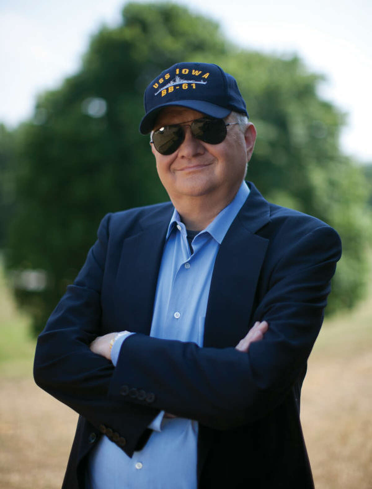 This 2010 image released by G.P. Putnam Sons shows author Tom Clancy in Huntingtown, Md. Clancy, the bestselling author of