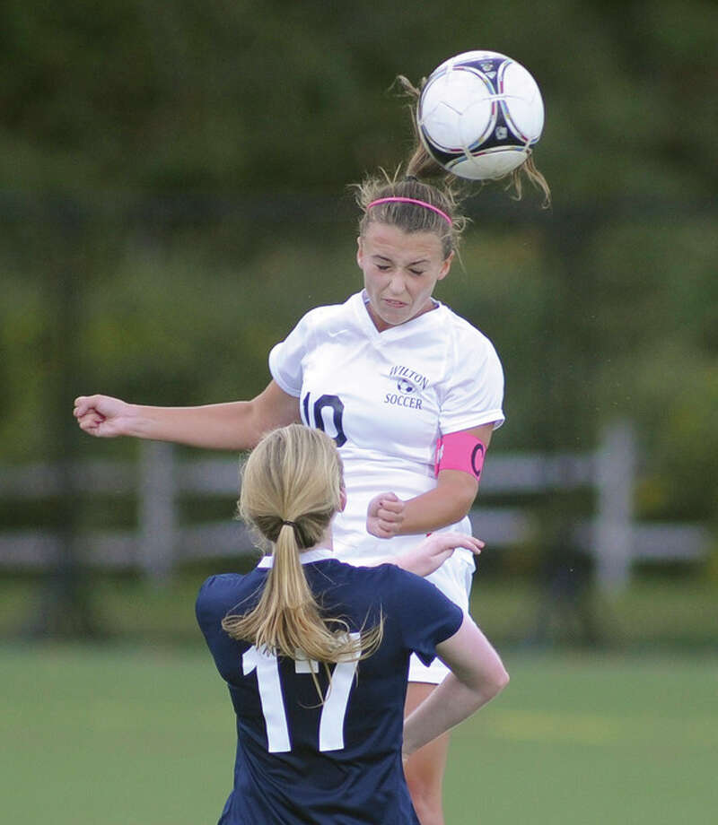 Girls Soccer: Wilton shuts out Staples