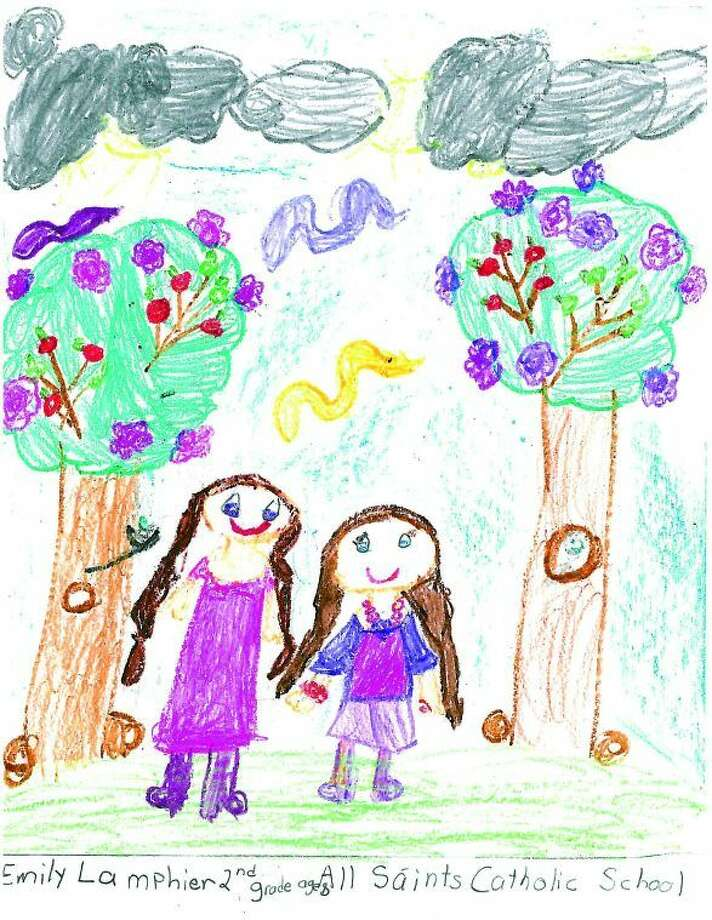 Emily Lamphier, Grade 2, Age 8, All Saints Catholic School