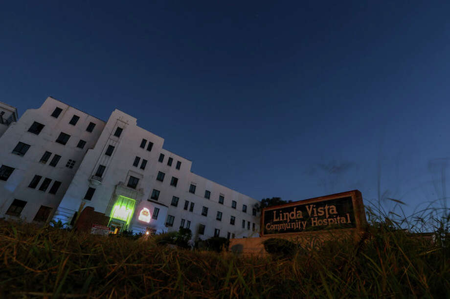 "A general view of the exterior of Linda Vista Hospital is seen during the ""American Horror Story: Asylum"" sleepover, on Monday, Oct. 7, 2013, in Los Angeles. (Photo by Paul A. Hebert/Invision/AP) / Invision"
