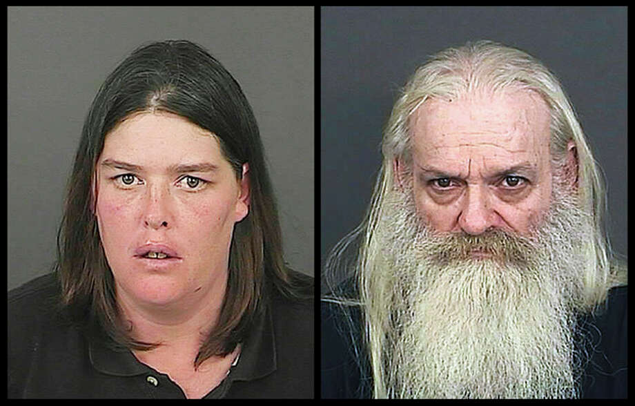 This photo combo of photos provided by the Office of the Denver District Attorney's Office shows Lorinda Bailey, left, and Wayne Sperling. Bailey and Sperling, the Denver couple accused of starving their four young sons and keeping them in a filthy apartment strewn with cat feces, urine and flies, made their first court appearance Tuesday, Oct. 8, 2013, and were advised of the felony child abuse charges against them. (AP Photo/Denver District Arttorney's Office) / Denver District Attorney's Office