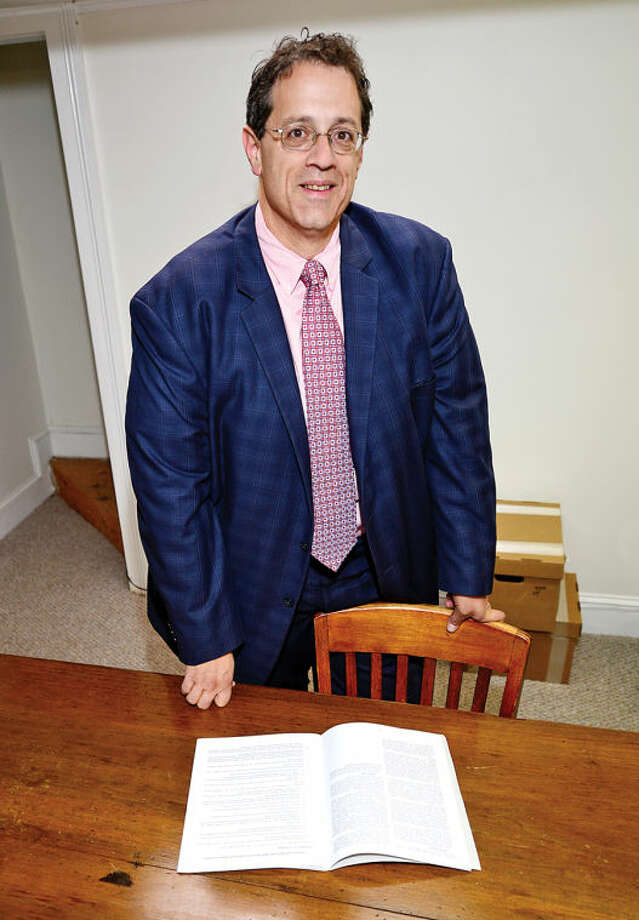 Hour photo / Erik Trautmann Norwalk attorney Steve Colarossi is running for the Board Of Educationon the Norwalk Community Values Party ticket.