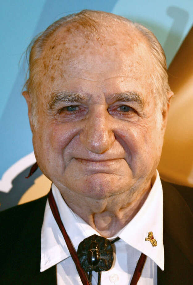 The Jan. 27, 2008 photo shows Hans Riegel, the longtime boss of German candy maker Haribo who took the gummi bear to international fame, in Cologne, western Germany. Haribo said in a statement that Riegel, the son of the company's founder, died of heart failure in Bonn on Tuesday. He was 90. (AP Photo/dpa, Fredrik von Erichsen)