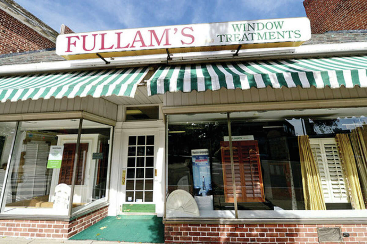 Hour photo / Erik Trautmann The Norwalk window treatment manufacturer, Fullam's, started as the former department store, The Tristram and Fuller Co.