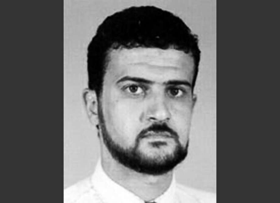 FILE - This file image from the FBI website shows Al Qaeda leader Abu Anas al-Libi. Al-Libi, who was captured in an Oct. 5, 2013, raid and held aboard a U.S. warship, is now in the United States. He is expected to stand trial over whether he helped plan and conduct surveillance for the bombings of U.S. embassies in Africa in 1998. (AP Photo/FBI, File) / FBI