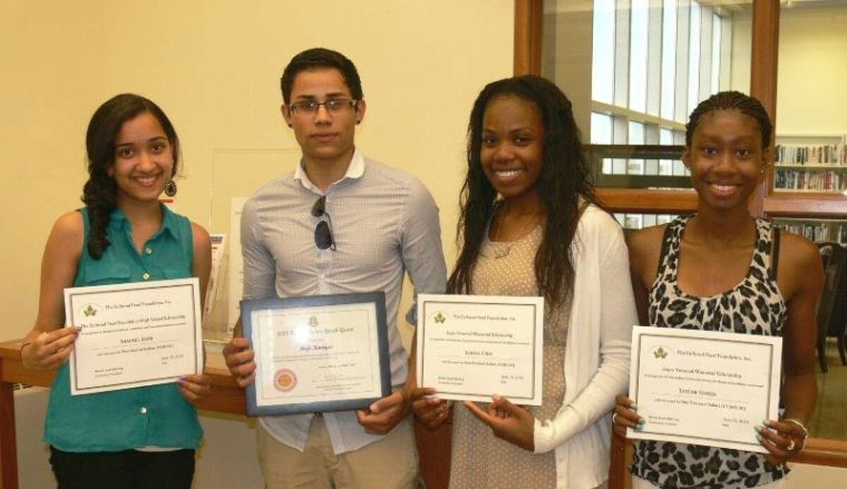 2013 Scholarship and Grant Recipients