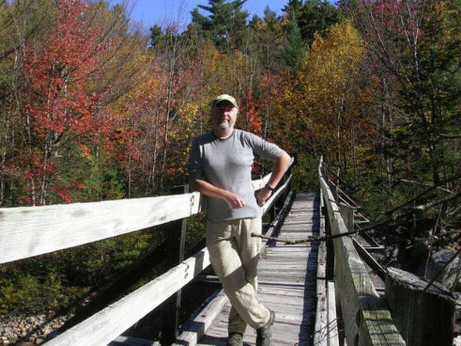 Photo by Rob McWilliamsA rickety bridge in New Hampshire's White Mountains.