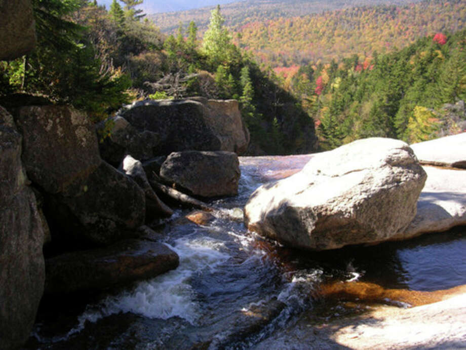 Photo by Rob McWilliamsThoreau Falls in New Hampshire's White Mountains.