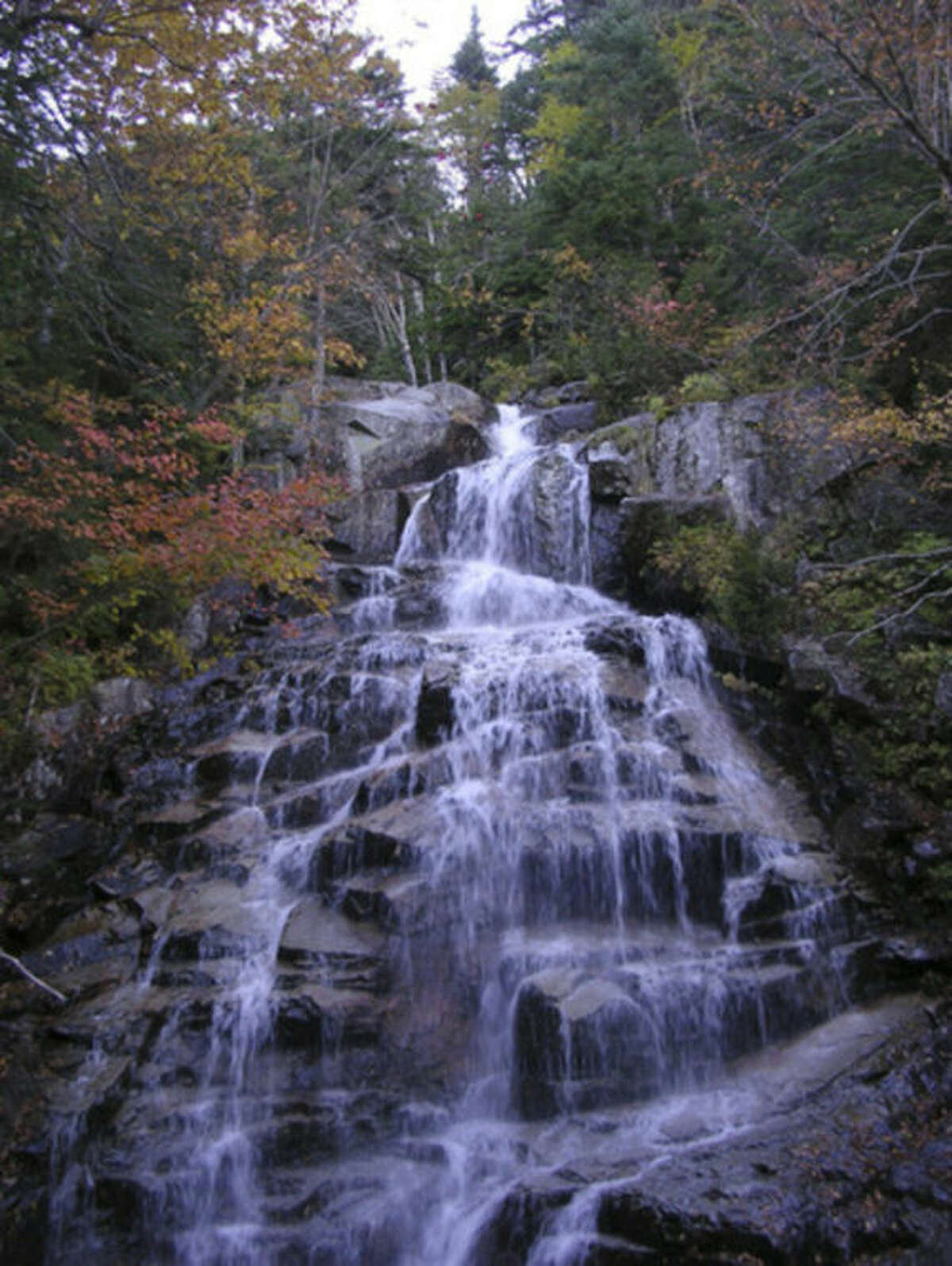 Photo by Rob McWilliams Cloudland Falls in New Hampshire's White Mountains.