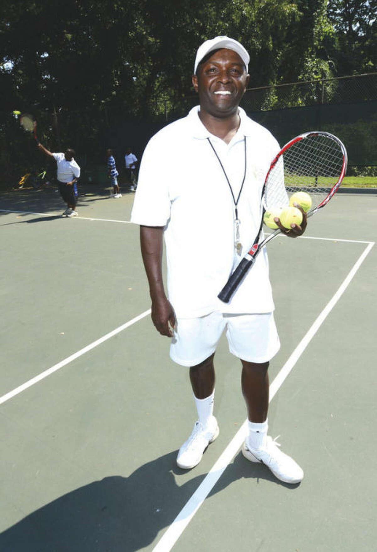 David Kimani, director of the Grass Roots Tennis program. Hour photo / Erik Trautmann