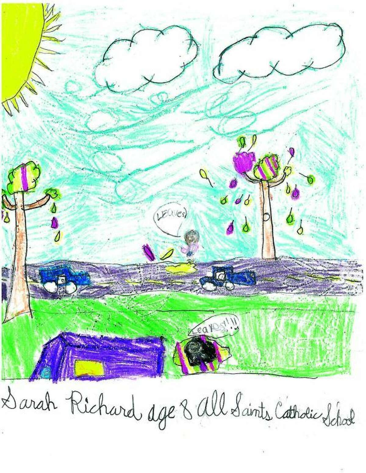 Sarah Richard, Age 8, All Saints Catholic School