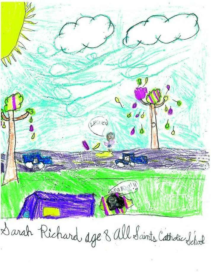 Sarah Richard, Age 8, All Saints Catholic School