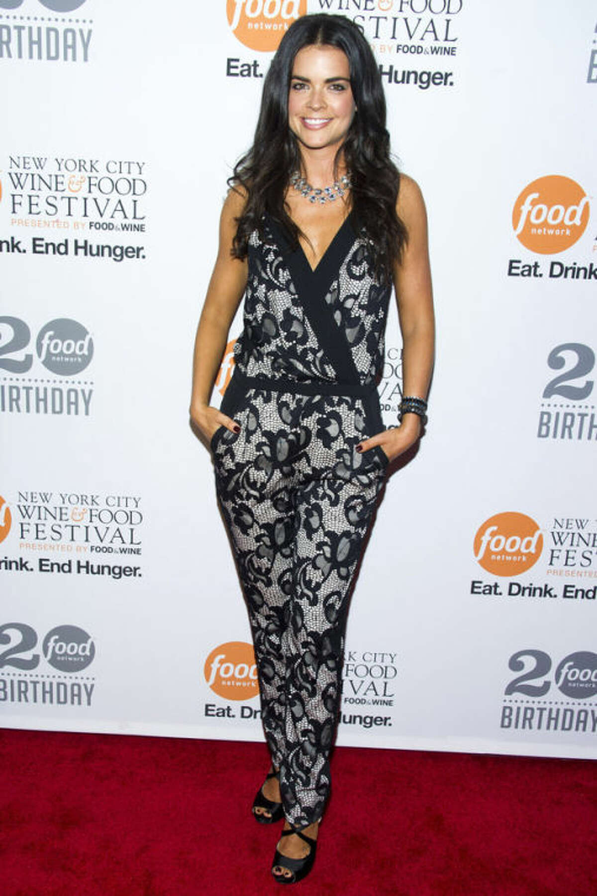 Katie Lee attends the Food Network's 20th birthday party on Thursday, Oct. 17, 2013, in New York. (Photo by Charles Sykes/Invision/AP)