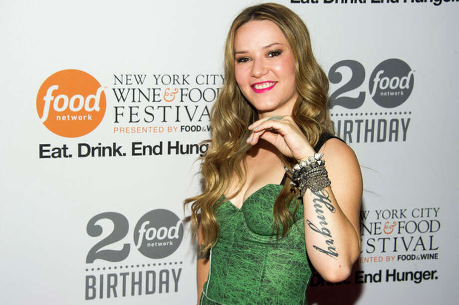 Nadia Giosia attends the Food Network's 20th birthday party on Thursday, Oct. 17, 2013, in New York. (Photo by Charles Sykes/Invision/AP) / Invision