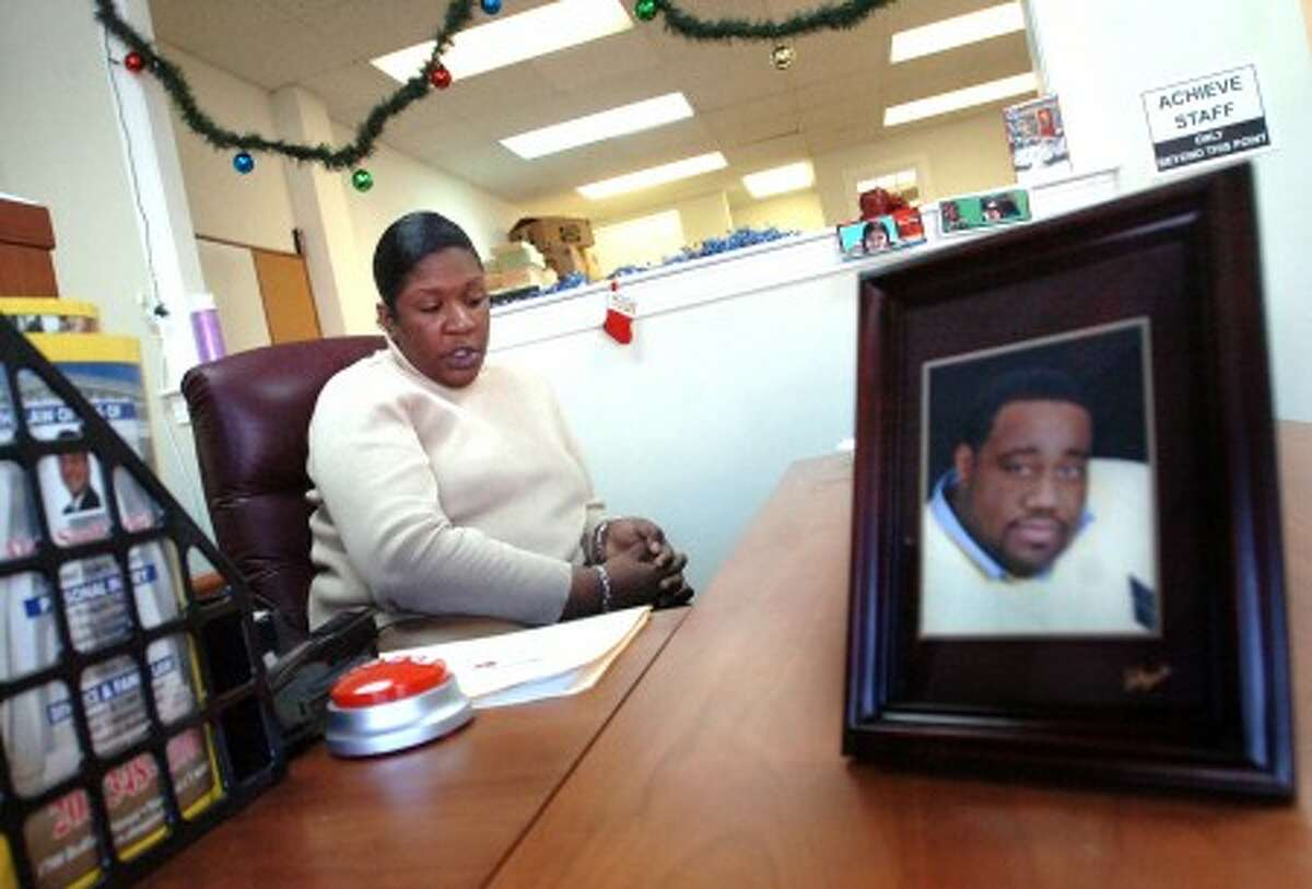 Tonya Williams-Peterson, Director of A.C.H.I.E.V.E. speaks about Founder Alonzo Virgil who passed away Friday and how the organization plans to continue/hour photo matthew vinci