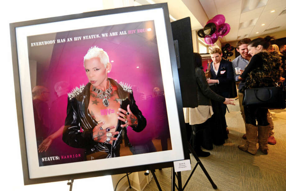"Hour photo / Erik Trautmann At the LGBT Health and Wellness Event on Saturday the World Health Clinicians (WHC) kicked off a new national photo campaign entitled ""HIV Equal"" to help bring about awareness of HIV and HIV testing."