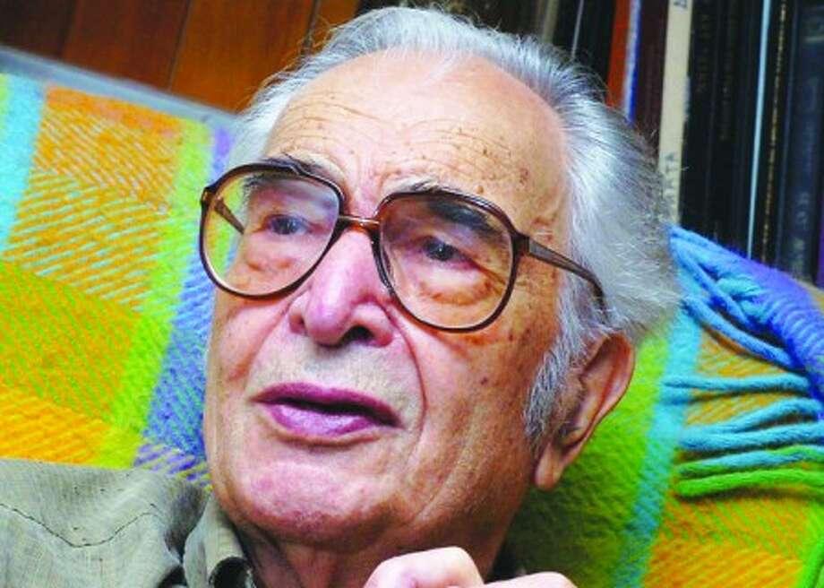Photo/Alex von Kleydorff. Dave Brubeck in his Wilton home 2006