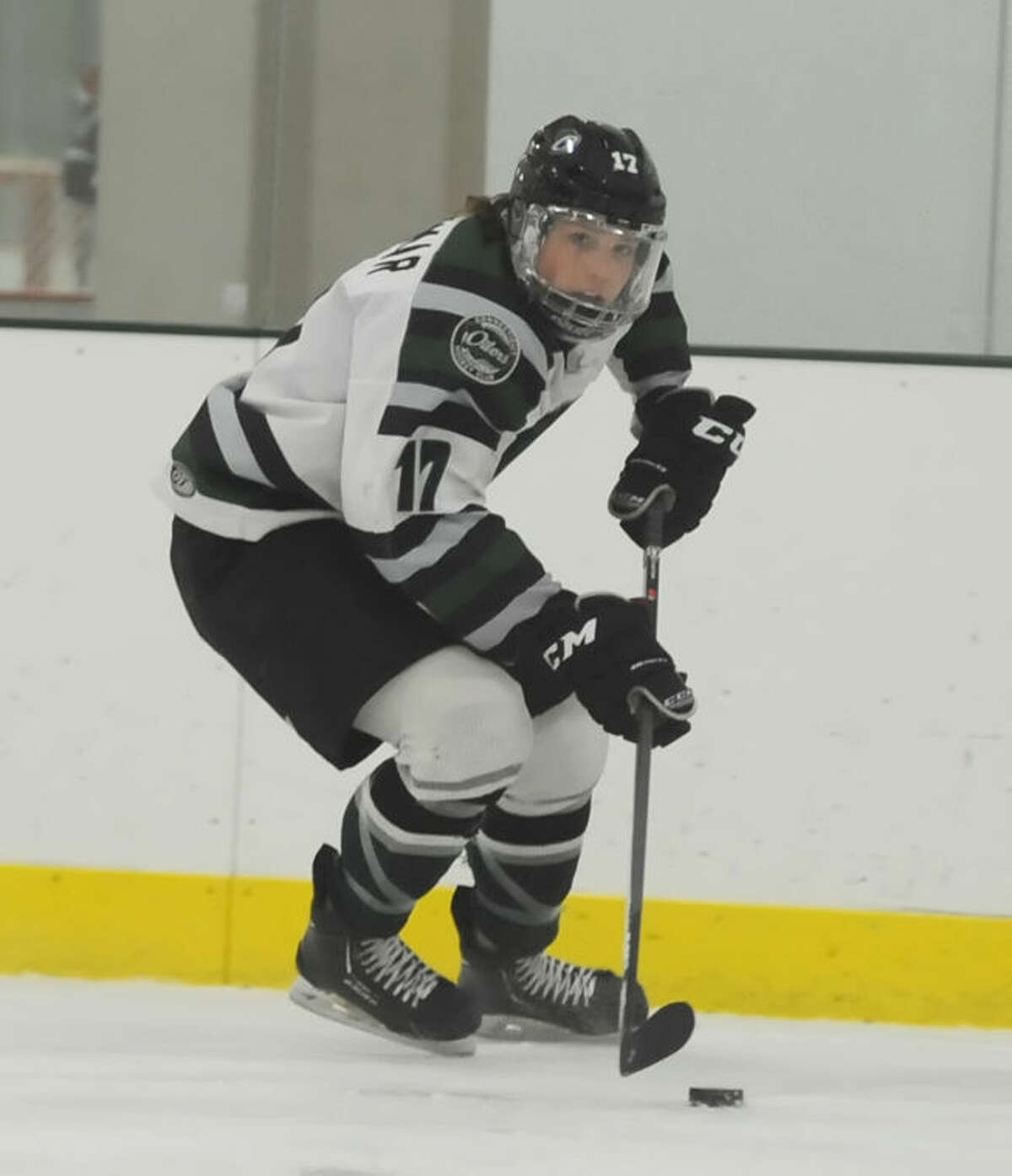 Connecticut Oilers forward Joe Widmar has verbally committed to play hockey at Maine next season.