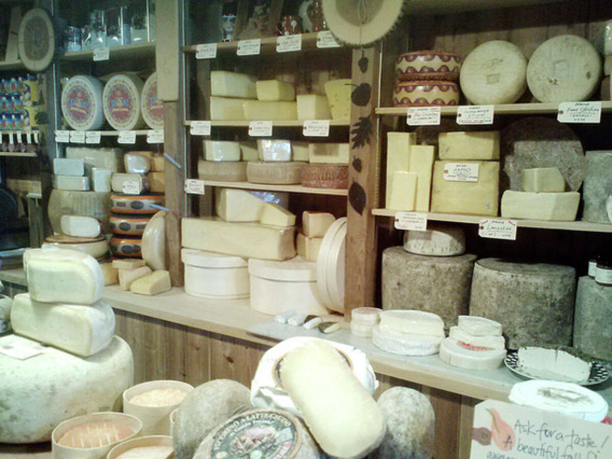 Photo by Frank Whitman Inside Darien Cheese and Fine Foods.