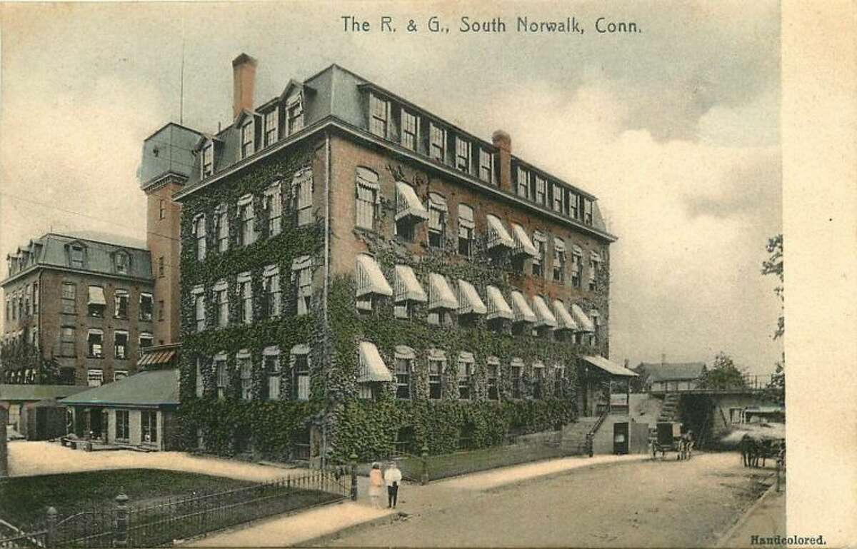 Norwalk R&G South Corset Factory 1910