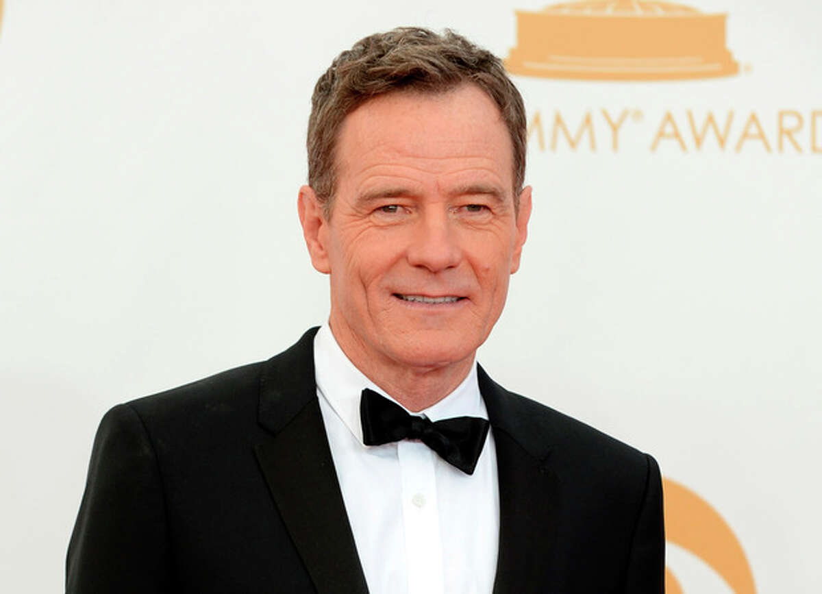 Photo by Jordan Strauss/Invision/AP, File This Sept. 22, file photo, shows Bryan Cranston at the 65th Primetime Emmy Awards at Nokia Theatre in Los Angeles.