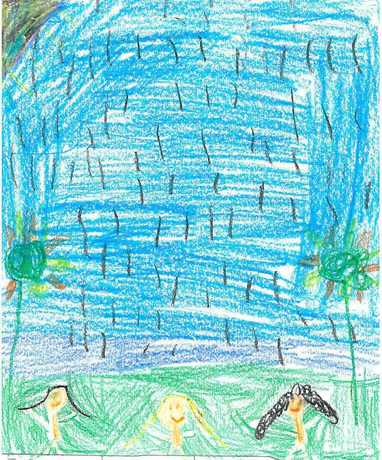 Tori Schreiber, age 7, All Saints Catholic School