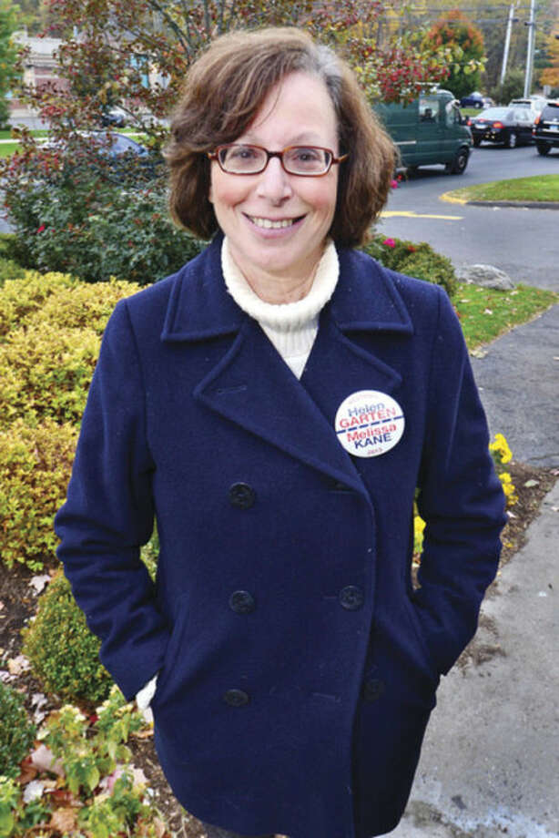 Hour photo / Erik Trautmann Helen Garten, Democratic candidate for first selectman of Westport.