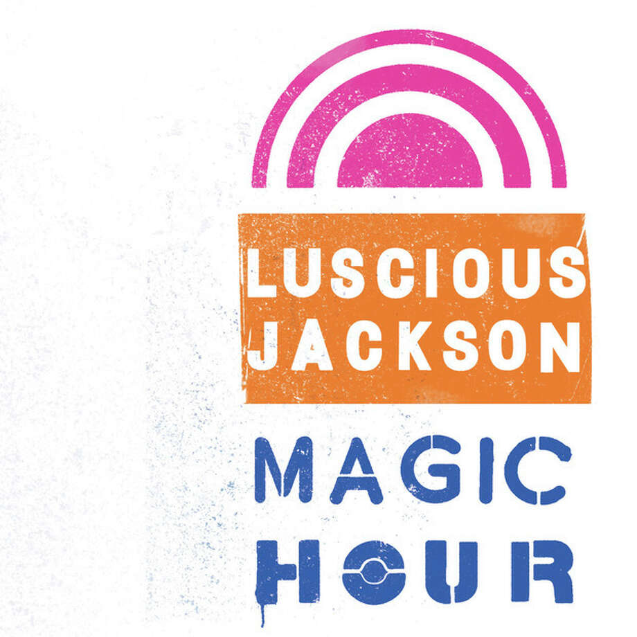"This CD cover image released by City Song shows ""Magic Hour,"" the latest release by Luscious Jackson. (AP Photo/City Song) / City Song"