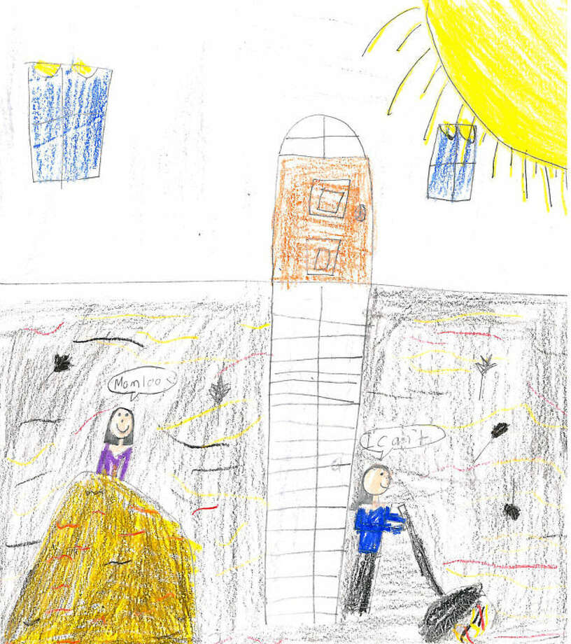 Miranda Airas, age 7, All Saints Catholic School