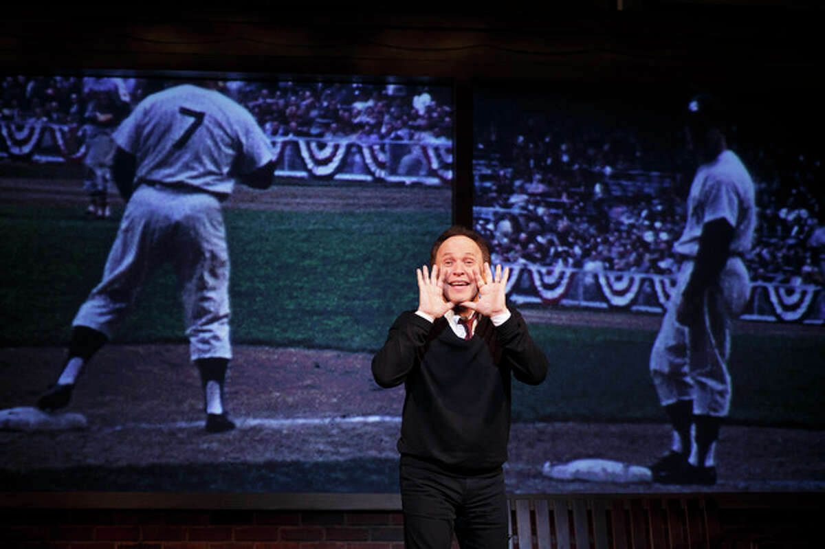 AP Photo/The Hartman Group, Carol Rosegg This 2013 photo provided by The Hartman Group shows actor Billy Crystal in his one-man show,