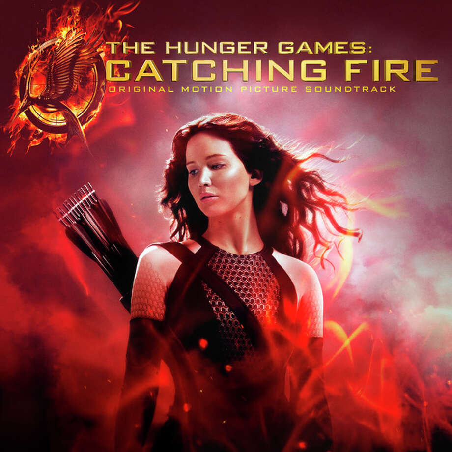 "This CD cover image released by Universal Republic shows the soundtrack for ""The Hunger Games: Catching Fire."" (AP Photo/Universal Republic) / Universal Republic"