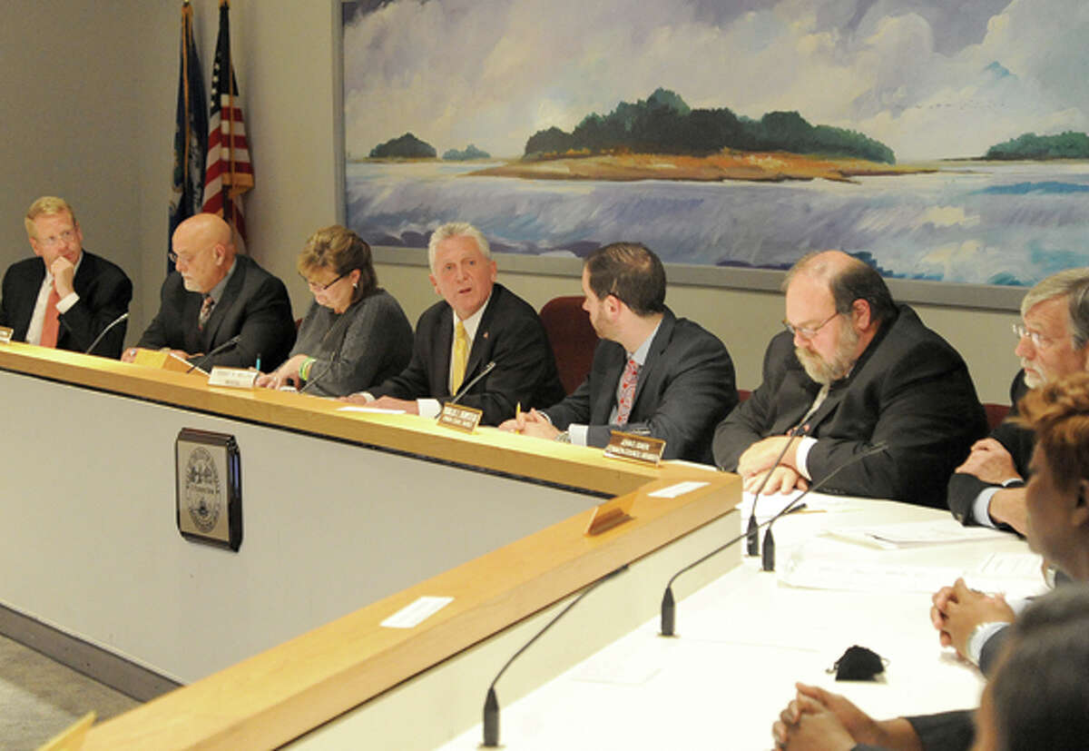 Organizational Meeting of the 2013-15 Common Council Tuesday at Norwalk City Hall. Hour photo/Matthew Vinci