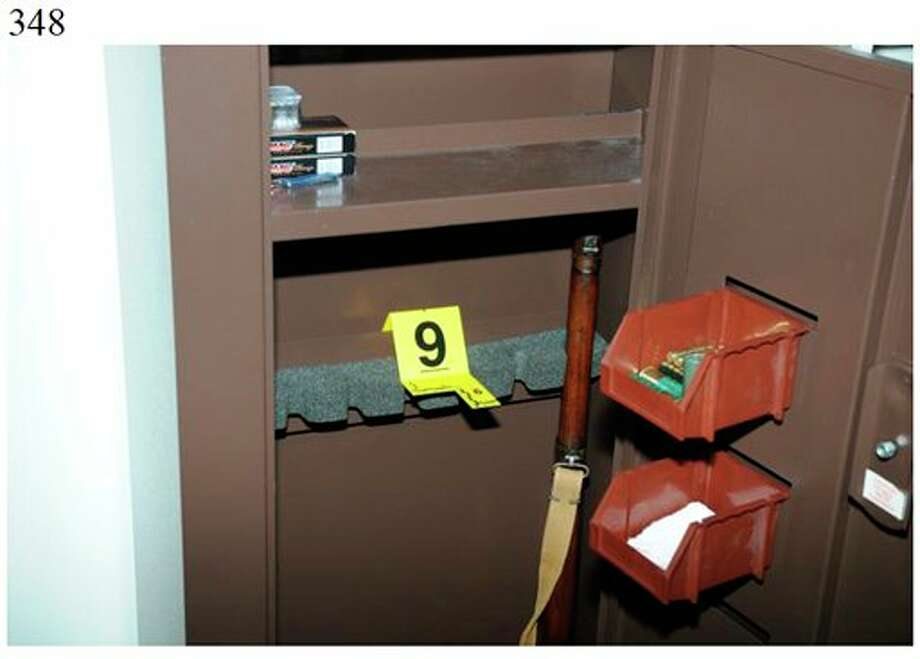 "This image contained in the ""Appendix to Report on the Shootings at Sandy Hook Elementary School and 36 Yogananda St., Newtown, Connecticut On December 14, 2012"" and released Monday, Nov. 25, 2013, by the Danbury, Conn., State's Attorney shows a scene at 36 Yogananda St., where gunman Adam Lanza lived with his mother in Newtown, Conn. Lanza opened fire inside the school killing 20 first-graders and six educators before killing himself as police arrived. (AP Photo/Office of the Connecticut State's Attorney Judicial District of Danbury) / Office of the Connecticut State's Attorney Judicial District of"