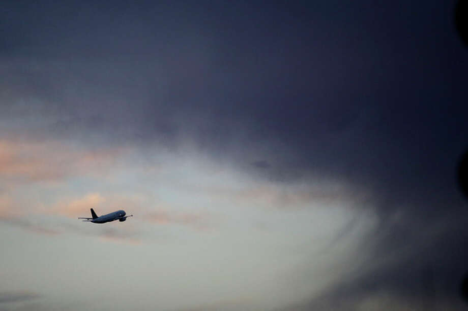 A United Airlines flight takes off from the Los Angeles International Airport on Wednesday, Nov. 27, 2013, in Los Angeles. More than 43 million people are to travel over the long holiday weekend, according to AAA. (AP Photo/Jae C. Hong) / AP