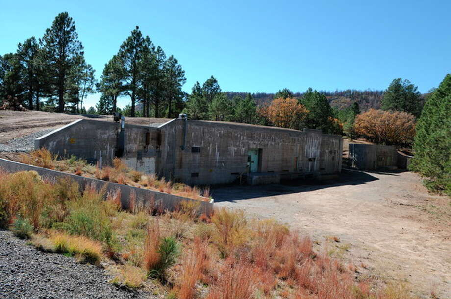 "This undated image provided by the Los Alamos National Laboratory shows the ""gun site"" is where the bomb that was dropped on Hiroshima was assembled. Tucked away in one of northern New Mexico's pristine mountain canyons is this old cabin that was the birthplace not of a famous person, but a top-secret mission that forever changed the world. The iconic areas scattered in and around the modern day Los Alamos National Laboratory are being proposed as sites for a new national park commemorating the Manhattan Project. (AP Photo/Los Alamos National Laboratory) / Los Alamos National Laboratory"