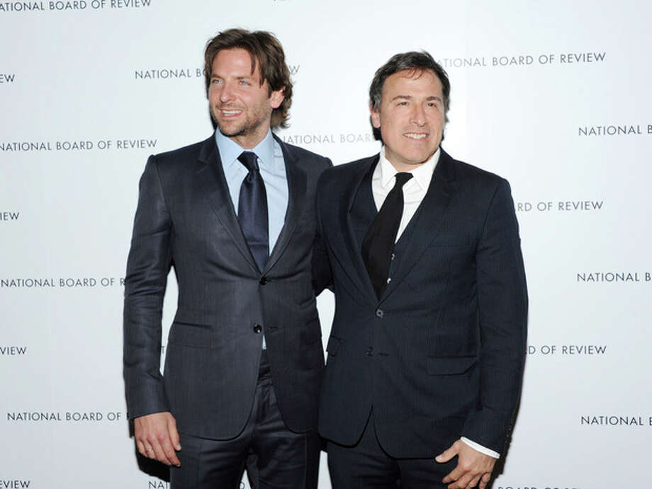 Ap photoThis Jan. 8 file photo shows Bradley Cooper, left, and writer-director David O. Russell, at the National Board of Review Awards gala in New York. / Invision