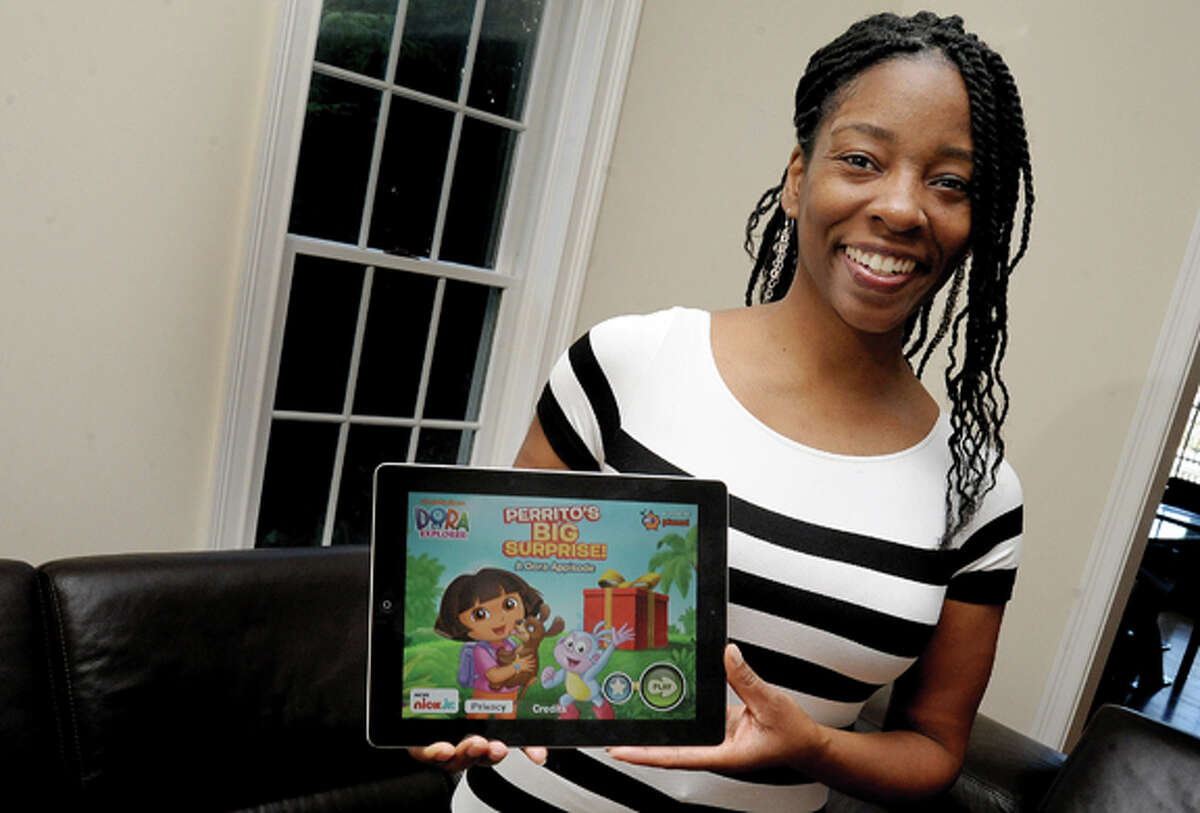 Stamford resident Makeda Mays Green has designed interactive games for some of the biggest names in children's media, including Sesame Street and Nick Jr. Photo/Matthew Vinci