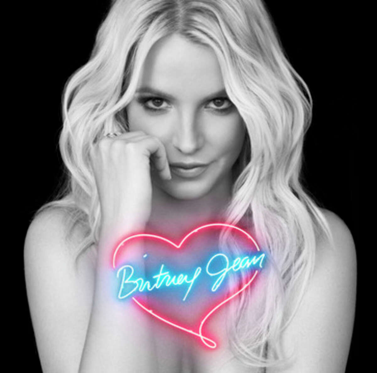 This photo provided by RCA Records shows the album cover for Britney Spears',