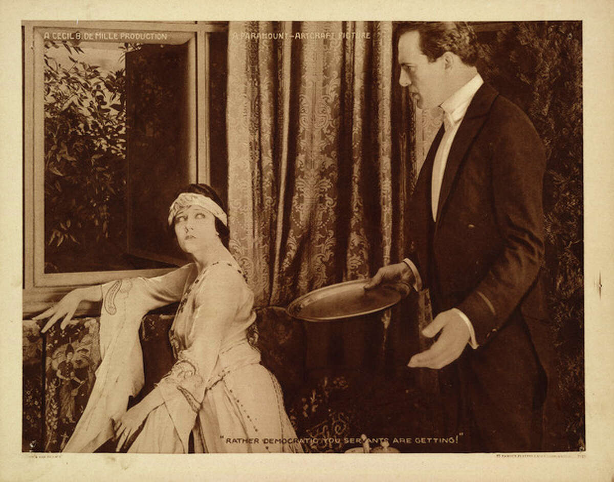 """AP Photo/Library of Congress This undated handout image provided by the Library of Congress shows a scene from Cecil B. DeMille's silent film """"Male and Female"""". The Library of Congress has conducted the first comprehensive survey of American feature-length silent films and found 70 percent of them have been lost. Of the nearly 11,000 silent feature films made in America between 1912 and 1930, the survey found only 14 percent still exist in their original format. About 11 percent of the films that survive only exist as foreign versions or on lower-quality formats."""